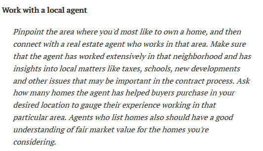 Zack Childress' Suggestions for Homebuyers